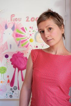 DIY : le petit top rétro  top-pin-up03 by Rose Sucre, via Flickr