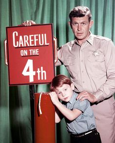 It's unsettling to see Andy and Opie looking serious about anything. That's the expression Andy would have if a serial rapist came to Mayberry and frankly I don't care for it!