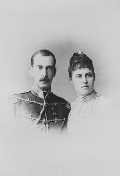 Charles Bergamasco (1830-96) - The Grand Duke Paul of Russia and his wife, the Grand Duchess Alexandra Georgiewna, eldest daughter of the King of Greece