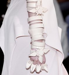 This arm looks like a weapon! Givenchy Fall '09 Couture.