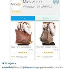 Markazip, instagram dukkanimiz...