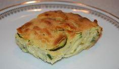 Invisible aux courgettes et parmesan WW, recette d'un savoureux gâteau salé aux courgettes, facile et parfait à réaliser pour accompagner un plat de viande.