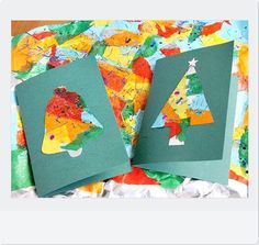 クリスマス カード 手作り 子ども