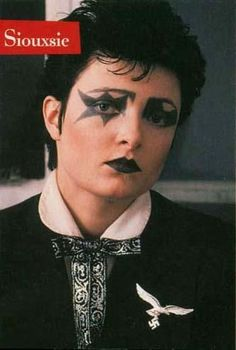 Masculine and bold Siouxsie <3 <3