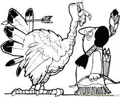 Thanksgiving color page holiday coloring pages color plate