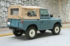 Land Rover 88 Serie II soft top canvas