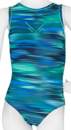 Blue Squeegee Leotard #leotards #gymnastics #gymnast #leotard