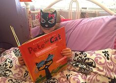 """Join Pete the Cat's Magic Sunglasses Blog Tour Have you ever heard of the company """"Put me In The Story""""? They create fun books for children with popular characters and you can have your child's name inserted into the story. Most recently, the popular and cool feline """"Pete The Cat has a new story out …"""