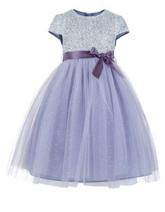 Mila Dress | Purple | Monsoon