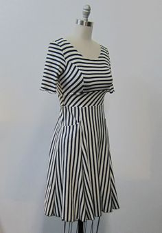Jersey Knit dress With Pockets by Melissa Bell Clothing