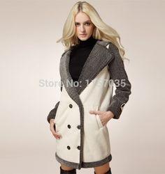 faux fur shaggy jacket purple ebay - Google Search