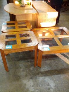 Coffee & End Table - $20-40 – Matching Set