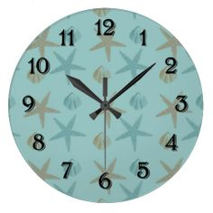 Starfish and Shells Wall Clock we are given they also recommend where is the best to buyShopping          	Starfish and Shells Wall Clock lowest price Fast Shipping and save your money Now!!...