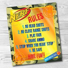 """Our son, Graham, turned 8 this past weekend, and his request for his birthday party this year was an """"epic Nerf battle"""" with his friends. I said I thought I could handle that and immediately headed over to Pinterest to get some ideas! Click the link to check out my """"Party"""" board over on Pinterest! … … Continue reading →"""