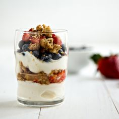 Yogurt Parfaits with Quaker Cookies are easy and delicious!