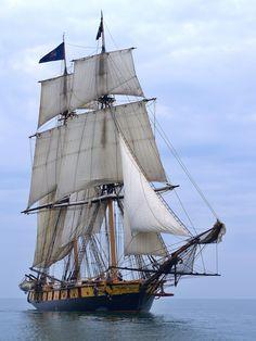 Fladship Niagara by mdrabic Bateau Pirate, Old Sailing Ships, Wooden Ship, Yacht Boat, Wooden Boats, Tall Ships, Ship Art, Model Ships, Water Crafts