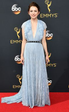 Hannah Murray from Best Dressed at the 2016 Emmys | E! Online