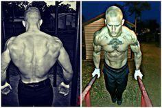 Jordan Hill's transformation through calisthenics-only training.