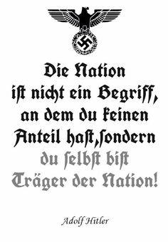 "Originaldatierung: [um 1933] Propaganda-Text Adolf Hitlers (1889-1945) ""Führerspruch"" | < zero D https://de.pinterest.com/pm1071/likes/ https://de.pinterest.com/Sixshooter0815/sonstiges/"