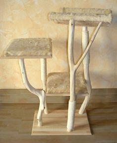 comment fabriquer un arbre a griffes en bois de mer pour son chat votre chat la manie de. Black Bedroom Furniture Sets. Home Design Ideas
