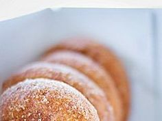 Impossible to Resist: Apple Cider Doughnuts