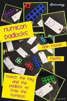 Amy p on math center 수학 Early Years Maths, Early Years Classroom, Early Math, Early Learning, Maths Eyfs, Eyfs Classroom, Classroom Activities, Guided Maths, Numicon Activities