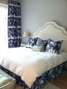 203 Best Blue And White Bedroom Ideas Images On Pinterest In 2018