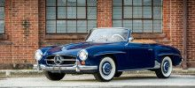 The Mercedes Benz 190SL was introduced in 1954 at the New York Motor Show as a less expensive, more practical, and smaller version of the illustrious Mercedes Benz 300SL. Not lacking in any of its big brother's technical refinements, the 190SL offered plenty of capability and race-bred technology to those enthusiasts considering a sporting roadster. From its initial production in 1955 through its replacement with the 230SL in 1963, nearly 26,000 would be produced with only a fraction in…