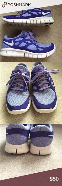 Nike Free Run 2 Nike Free Run 2 tennis shoes size 7.5! Beautiful color and great condition. Only have worn them inside for workouts. Would trade for size 8 tennis shoes Nike Shoes Athletic Shoes