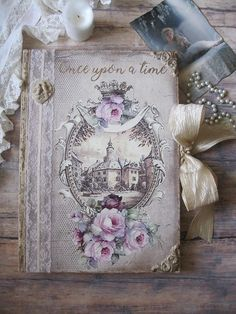 Fairy tale wedding guest book wedding memory book wedding