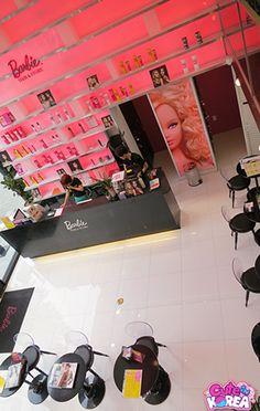 Barbie Hair Salon in Seoul, South Korea