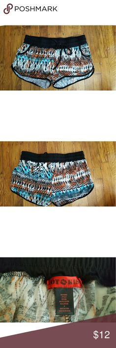 Tribal print shorts Tribal print shorts by Hot Kiss. Size medium and in great condition. Very comfy. Hot Kiss Shorts