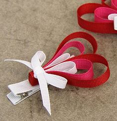 Valentine's Day Ribbon Heart Hair Clip from @joannstores | Valentine's Day Outfit Ideas