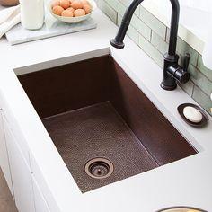 Cocina 33 Copper Kitchen Sink | Native Trails