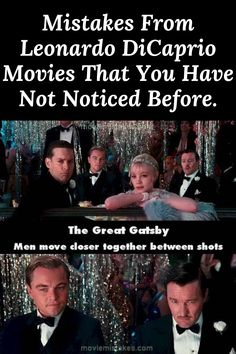 #Mistakes #From #Leonardo #DiCaprio #Movies #That #You #Have #Not #Noticed #Before. Gatsby Man, Leonardo Dicaprio Movies, Celebrity Gossip, Mistakes, Celebrities, Unique, Amazing, Funny, Movie Posters