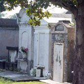 St. Roch Cemetery in New Orleans: An above-ground cemetery in New Orleans.
