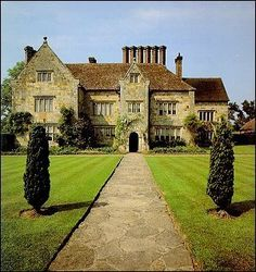 Bateman's - Rudyard Kipling's house in Sussex, UK. A beautiful family home, have visited many times