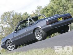 Mustang 7 Up LX Convertible 1990 | M5lp 1107 05 O 1991 Ford Mustang LX Convertible Driver Side