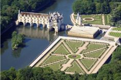 Château de Chenonceau, Loire Valley, France. Built across a river for better defense, this was the most amazing place we saw on our trip. I would go back in a heartbeat!