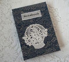 A6 Handmade notebook: vintage kimono silk fabric £6.95