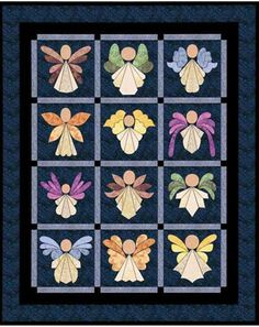 Angels Quilt Pattern…