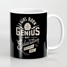 education, lettering, typography, funny, black, handdrawn