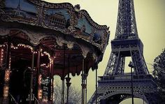 Beautiful Eiffel Tower Paris, France Travel Photos : theBERRY