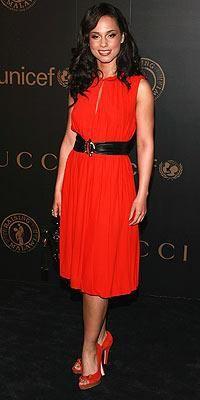 Who made Alicia Keys' red dress? Dress – Gucci