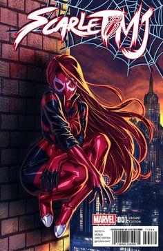 Scarlet Spider MJ by FooRay on DeviantArt