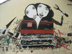 Athens Street Art 05 by Alexandros Vasmoulakis