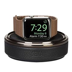Leather Watch Stand for Apple Watch