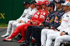 The drivers start of season photograph (Aus 2014)