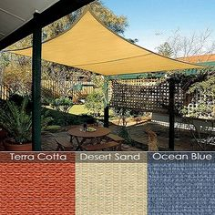 Sun Shade - Open weave Fabric in light colours