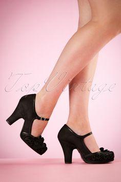 Ruby Shoo Tanya Pumps in Black Hot Shoes, Crazy Shoes, Me Too Shoes, Vintage Shoes, Vintage Outfits, Girls Formal Shoes, Splendid Shoes, Dress Shoes, Dance Shoes